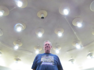 "Jim Arrowood, of Jim's Sci-Fi Blog, ""Under The Dome"" at work!"